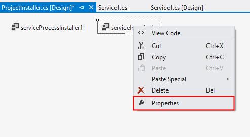 Select process Property